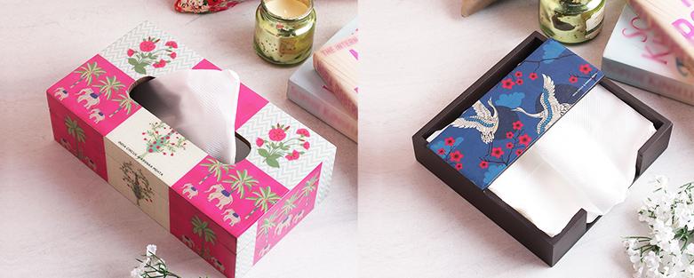Tissue Box Holders | Designer Tissue Paper Holders