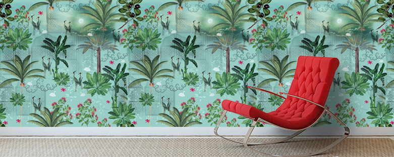 Buy Designer Wallpapers For Home Online India Circus