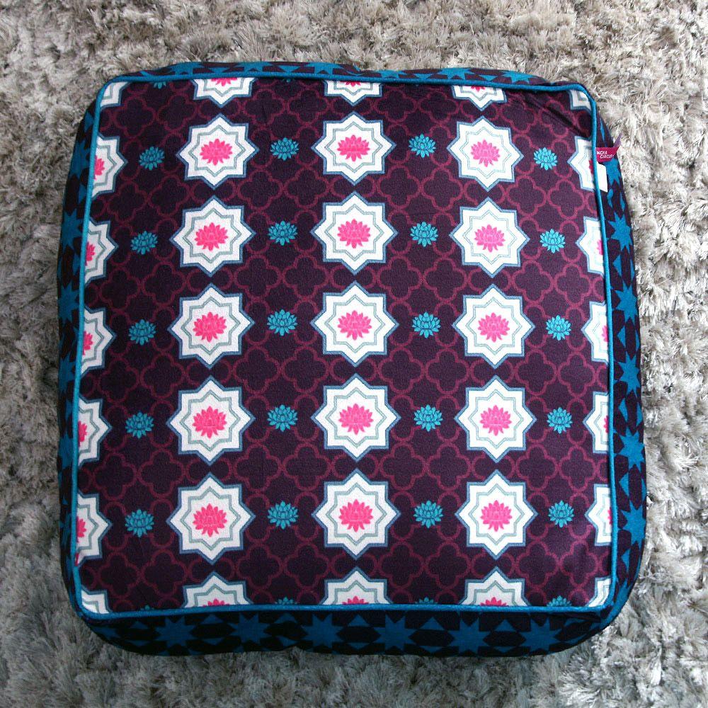 Tamara Floral Bloom Floor Cushion Cover