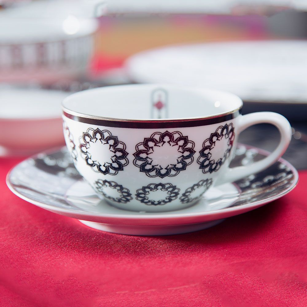 Stars of the Nawab Tea Cup