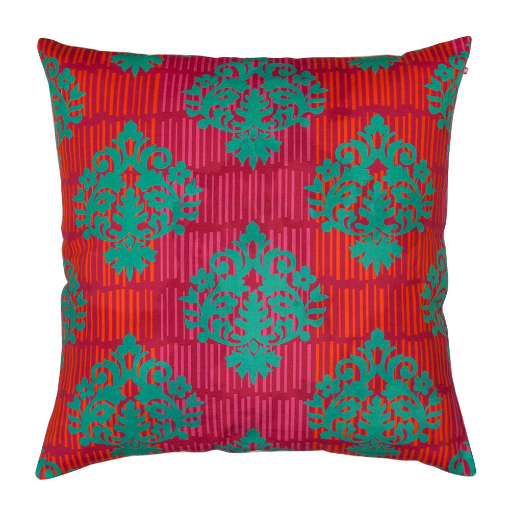 Fuchsia Floral Cushion Cover