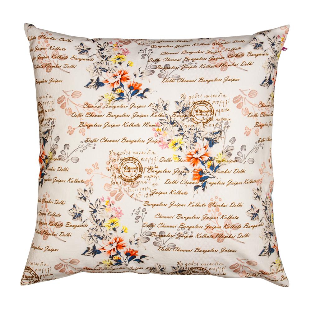 Flower Fall Cushion Cover