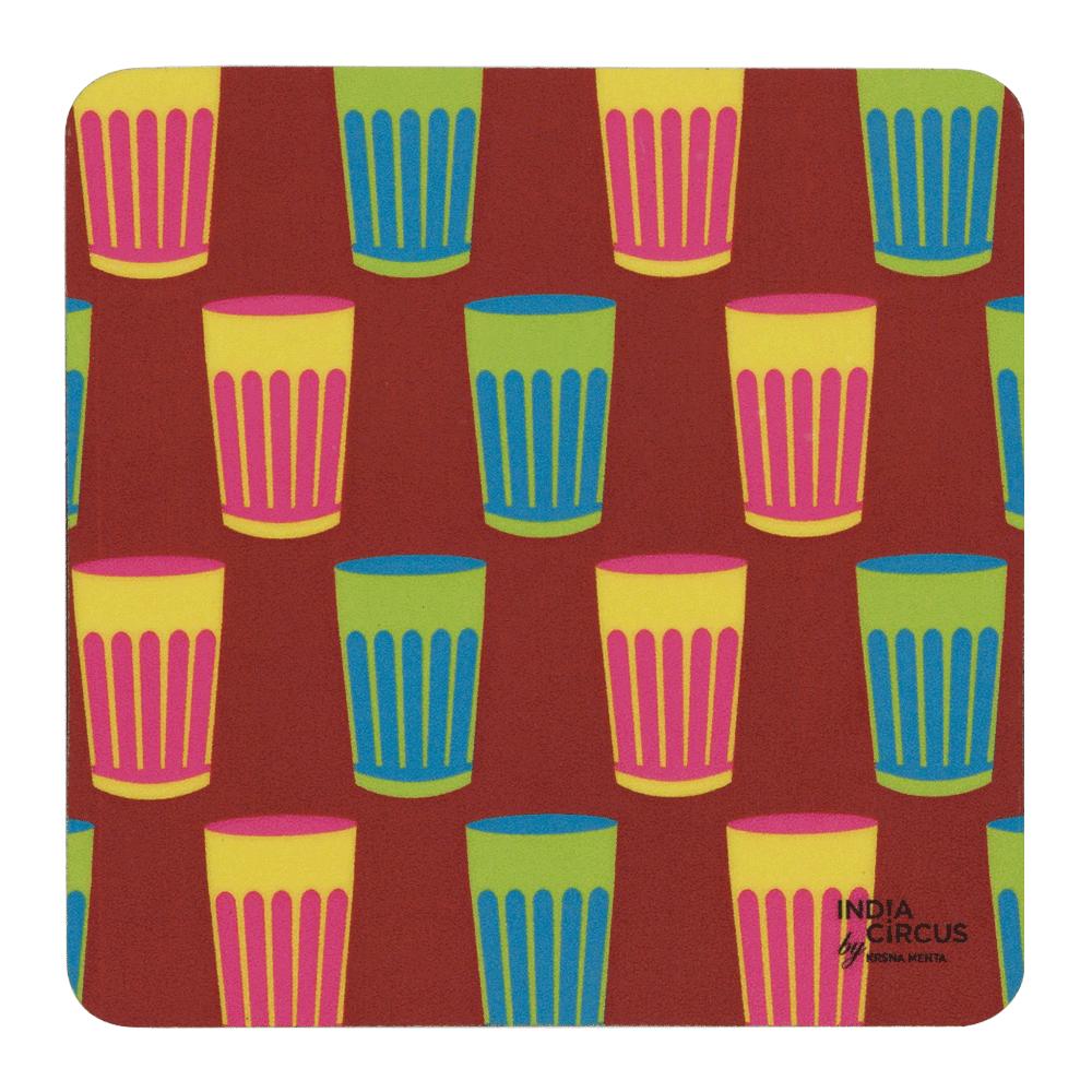 Cutting Chai Coasters - (Set of 6)
