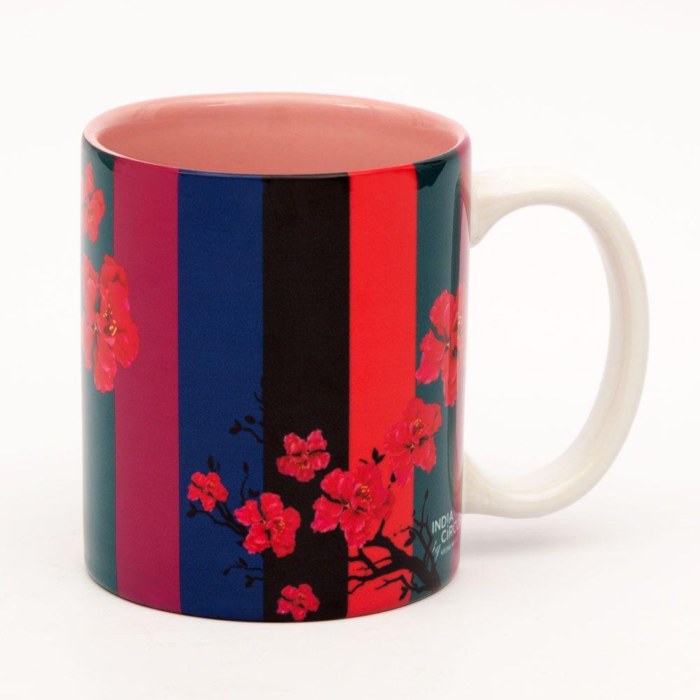 Floral Trail Ceramic Mug