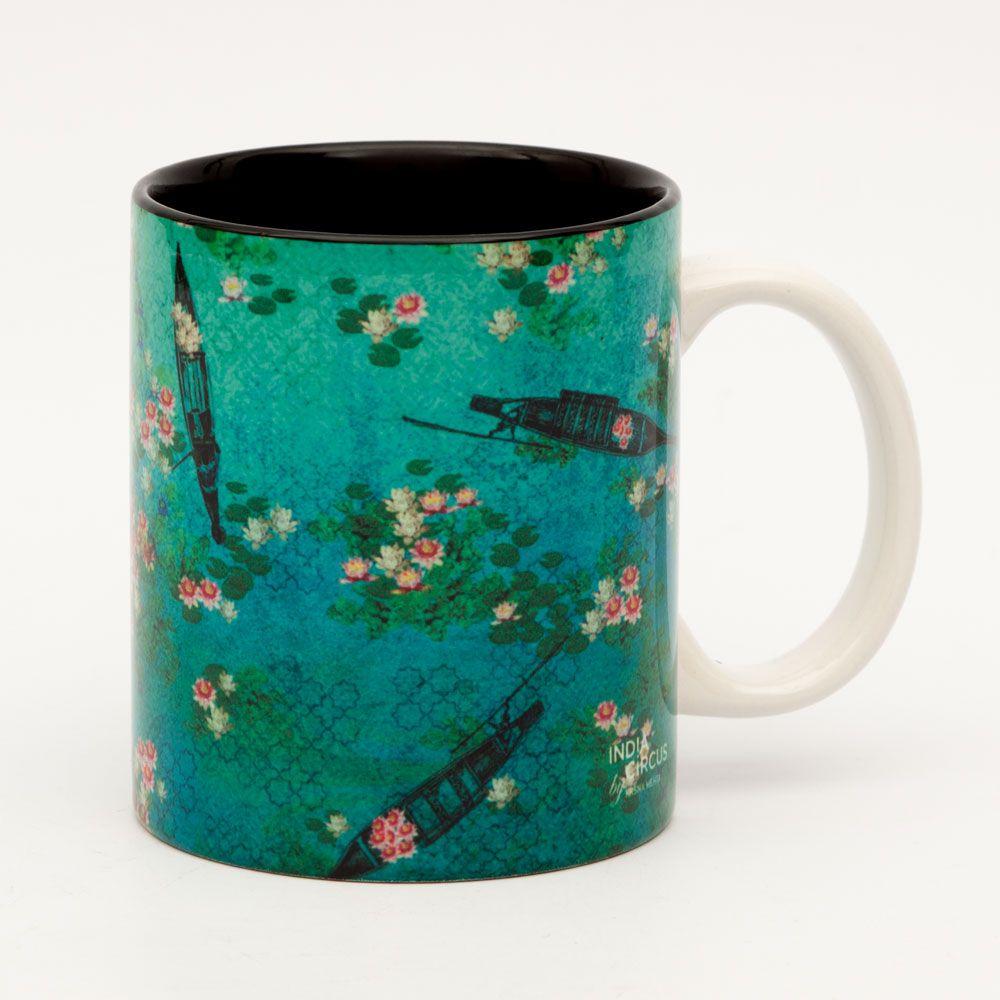 Boats and Flowers Mug
