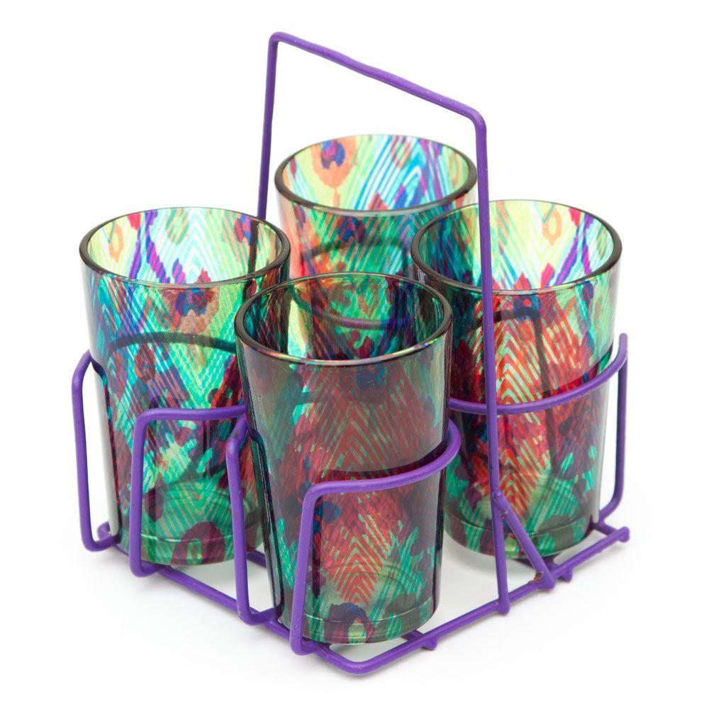 Magic and Mosaic Chai Glasses