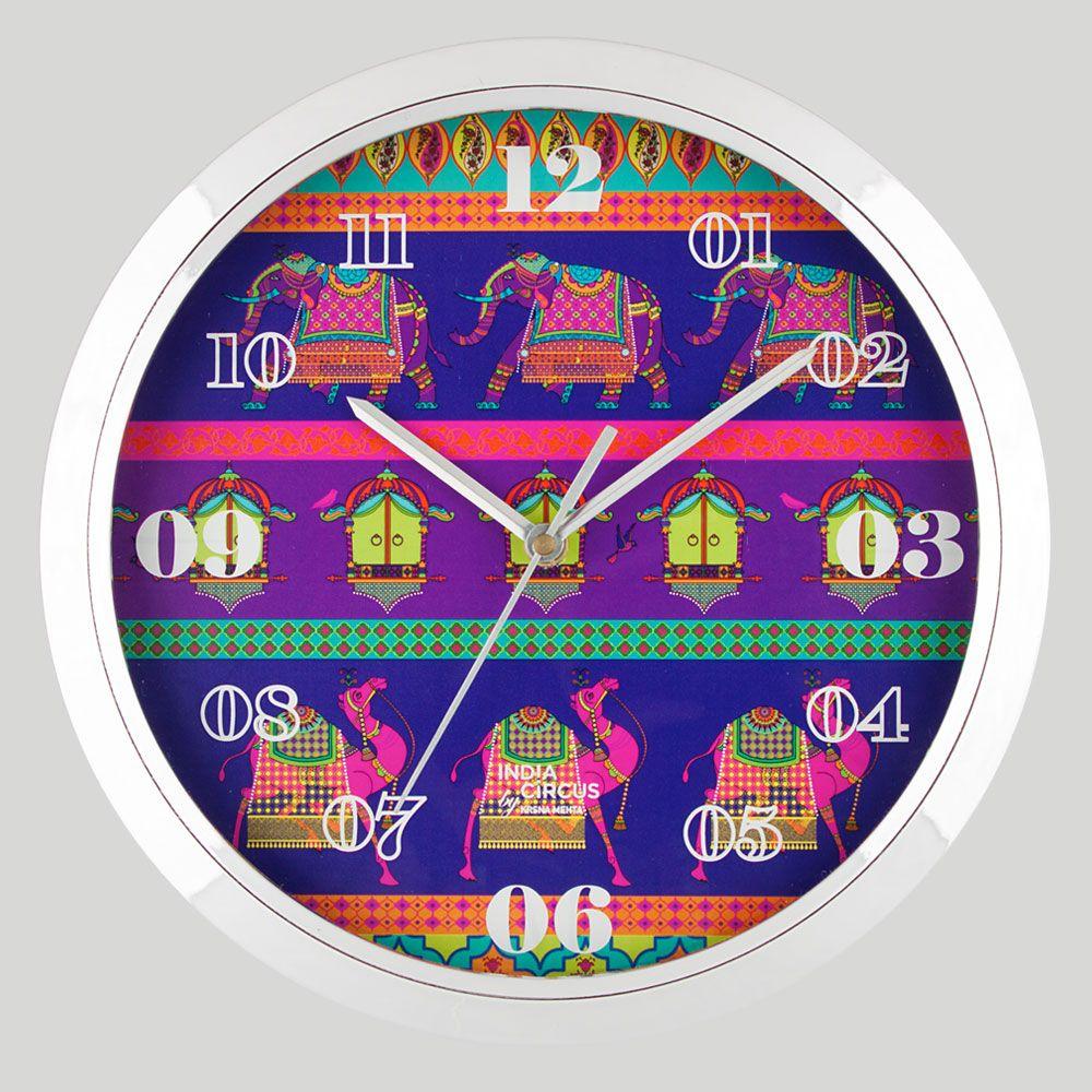 Royal Animals Wall Clock