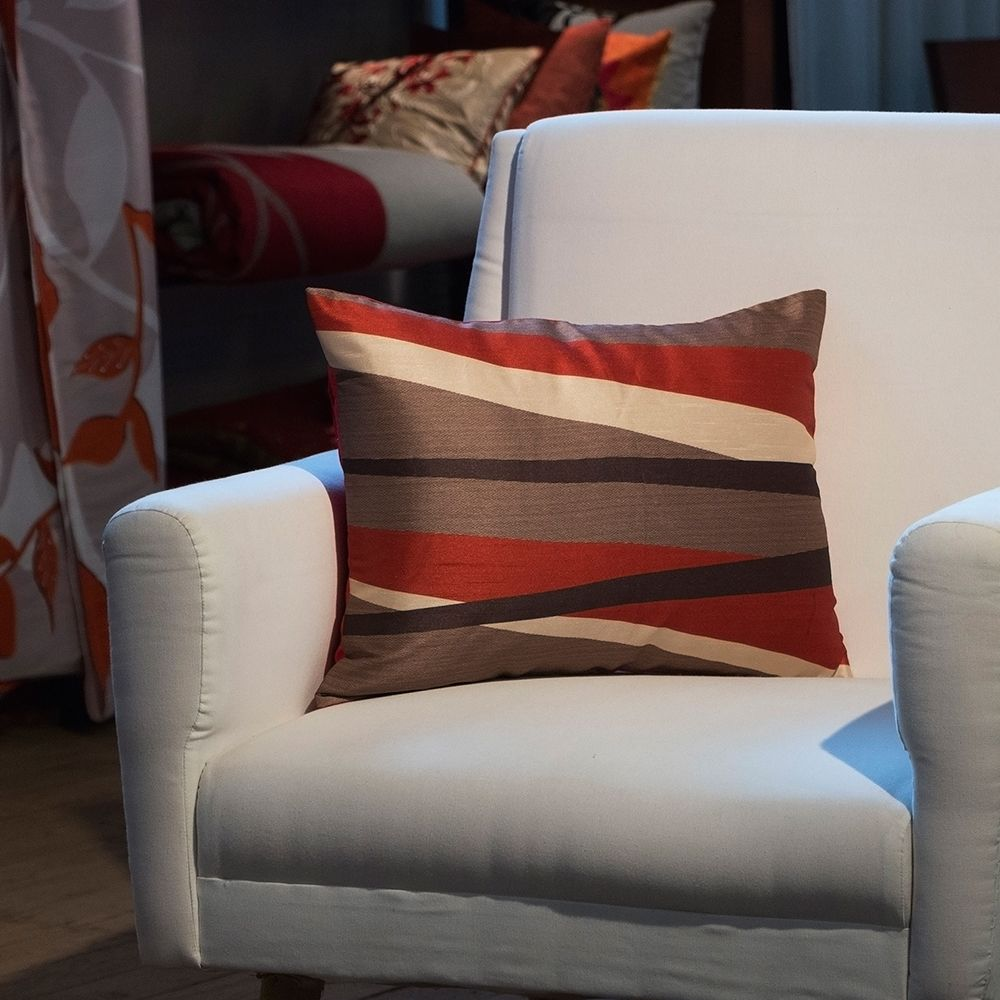Rustic Brown cushion cover