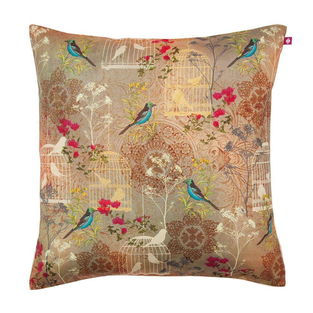 Freedom is Blissful Poly Taf Silk Cushion Cover