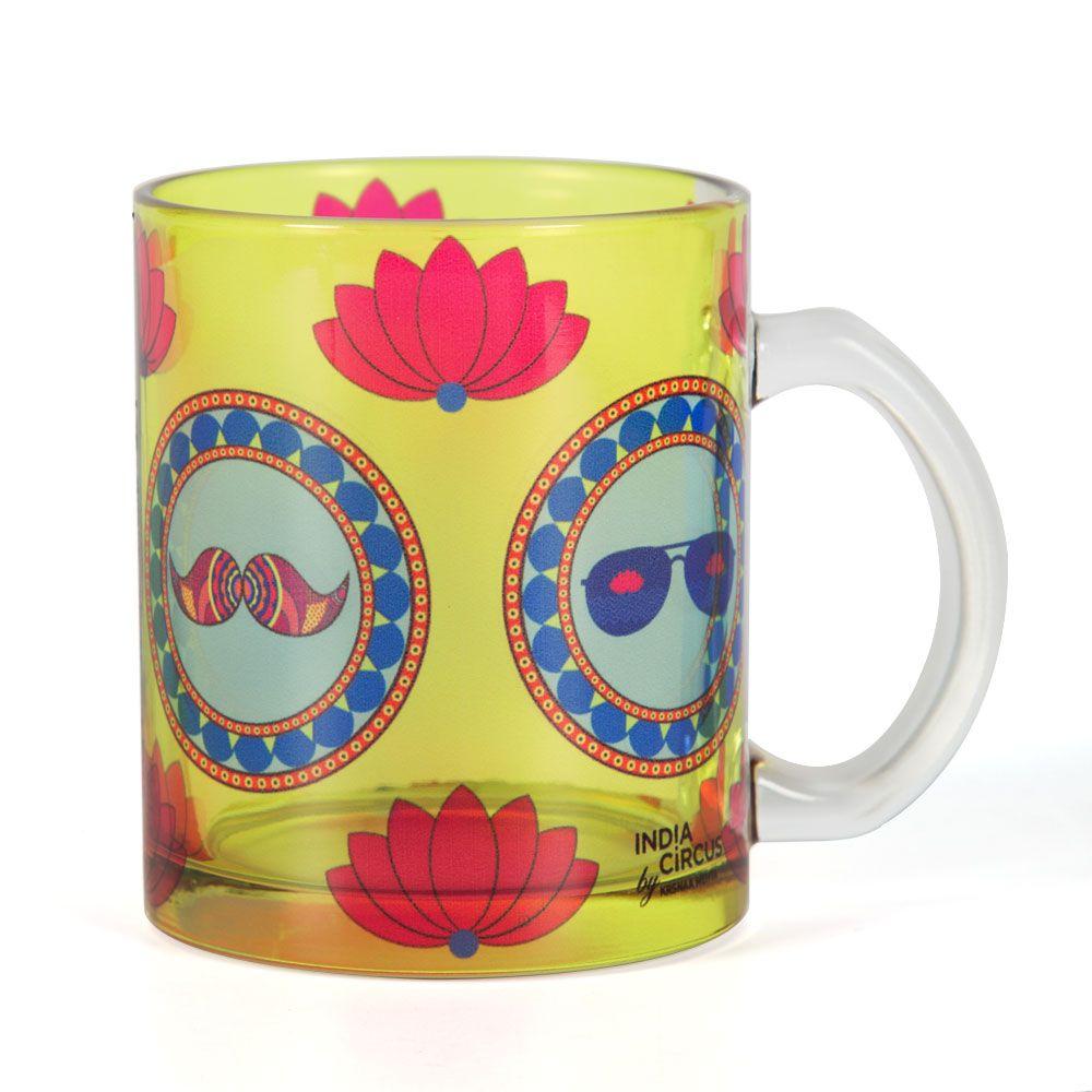 C'est La Vie Glass Mug