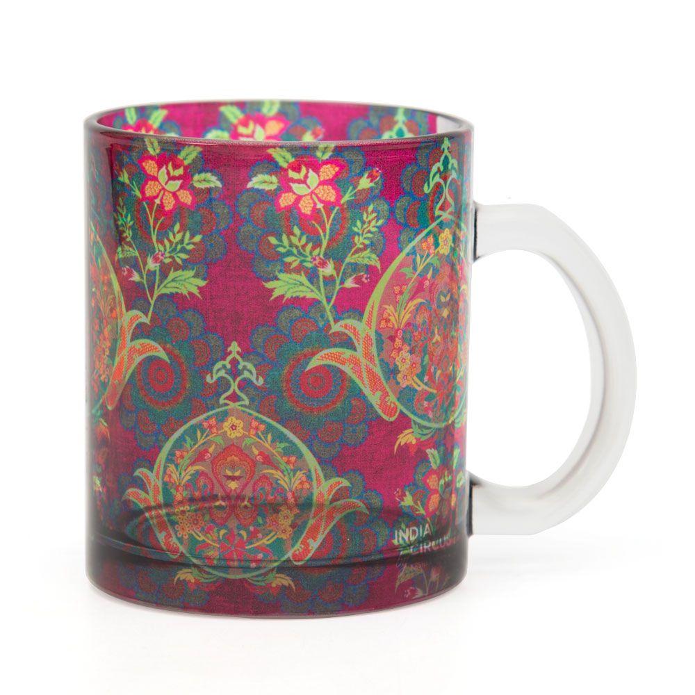 Vintage Treasure Glass Mug