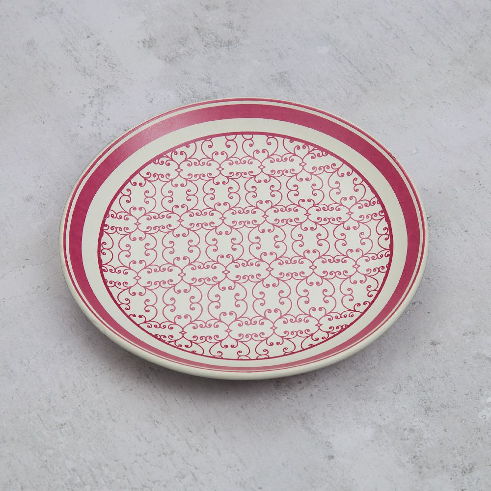 The Morning Glory Quarter Plate
