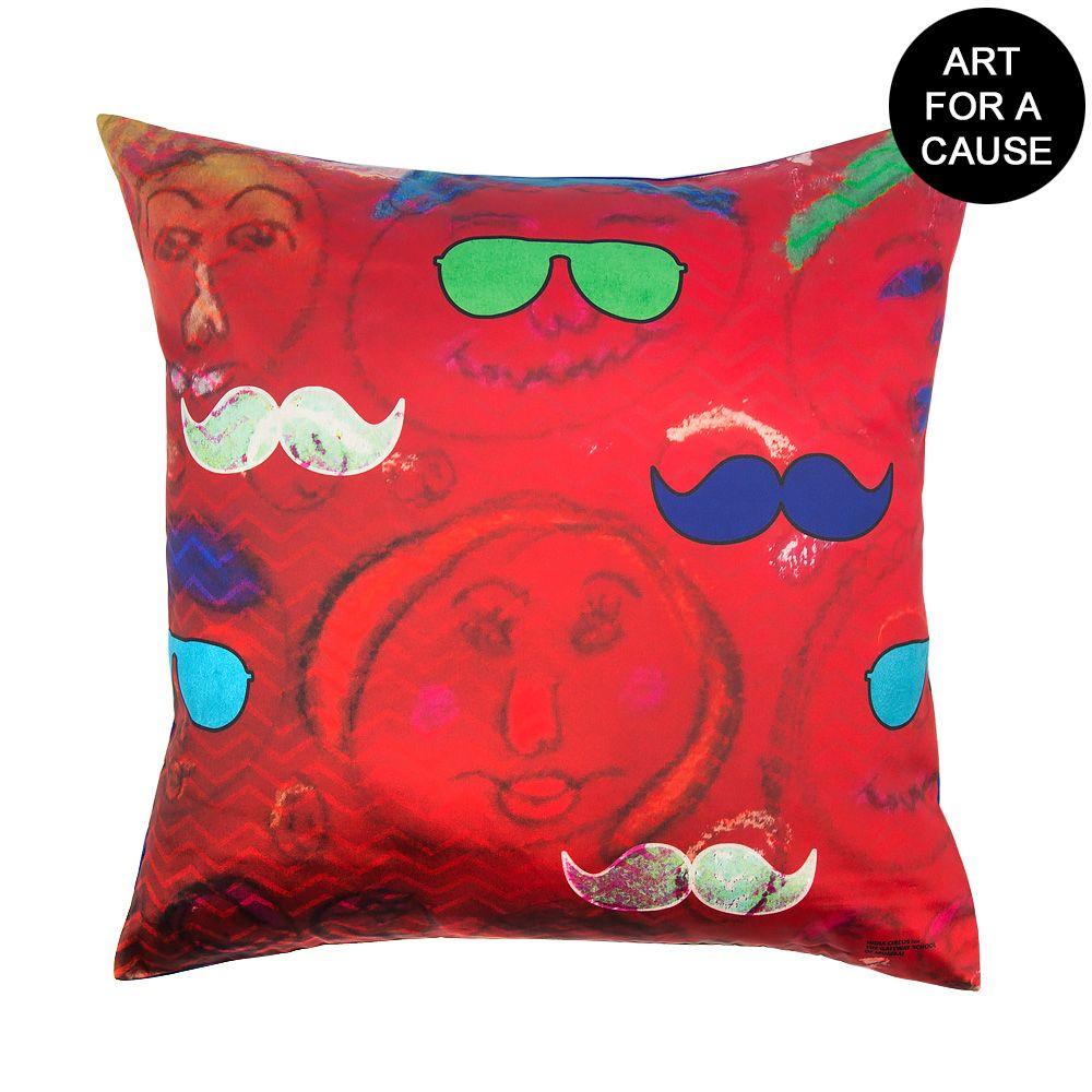Potrait of Desire Gateway Blended Taf Slik Cushion Cover