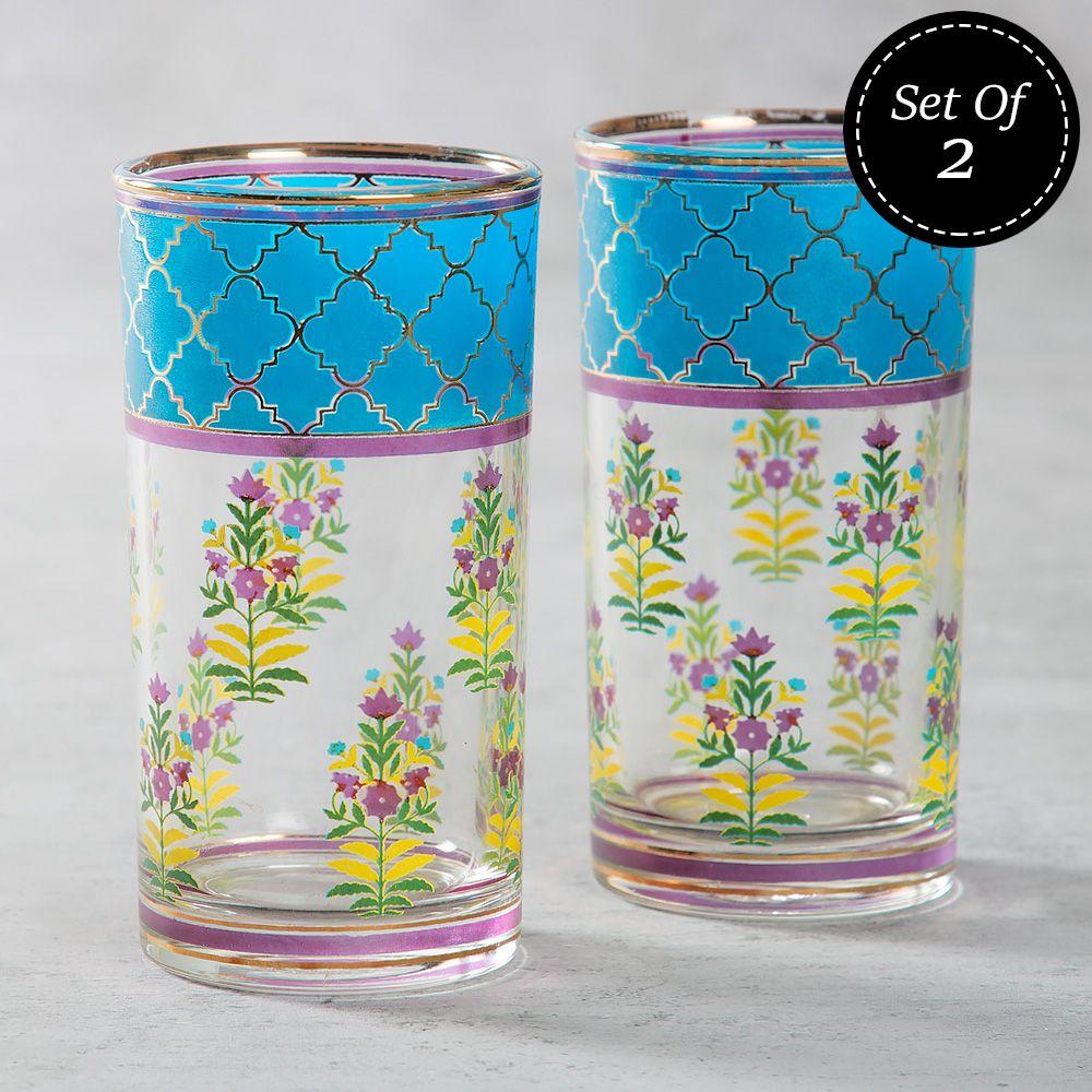Garden of Eva Glass Tumbler (Set of 2)