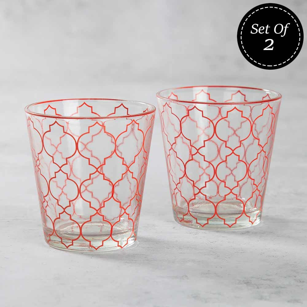 The Ogee Chronicle Glass Tumbler (Set of 2)