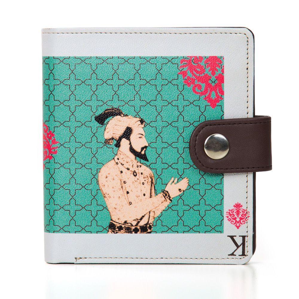 Mughal King Playing Card Unisex Wallet