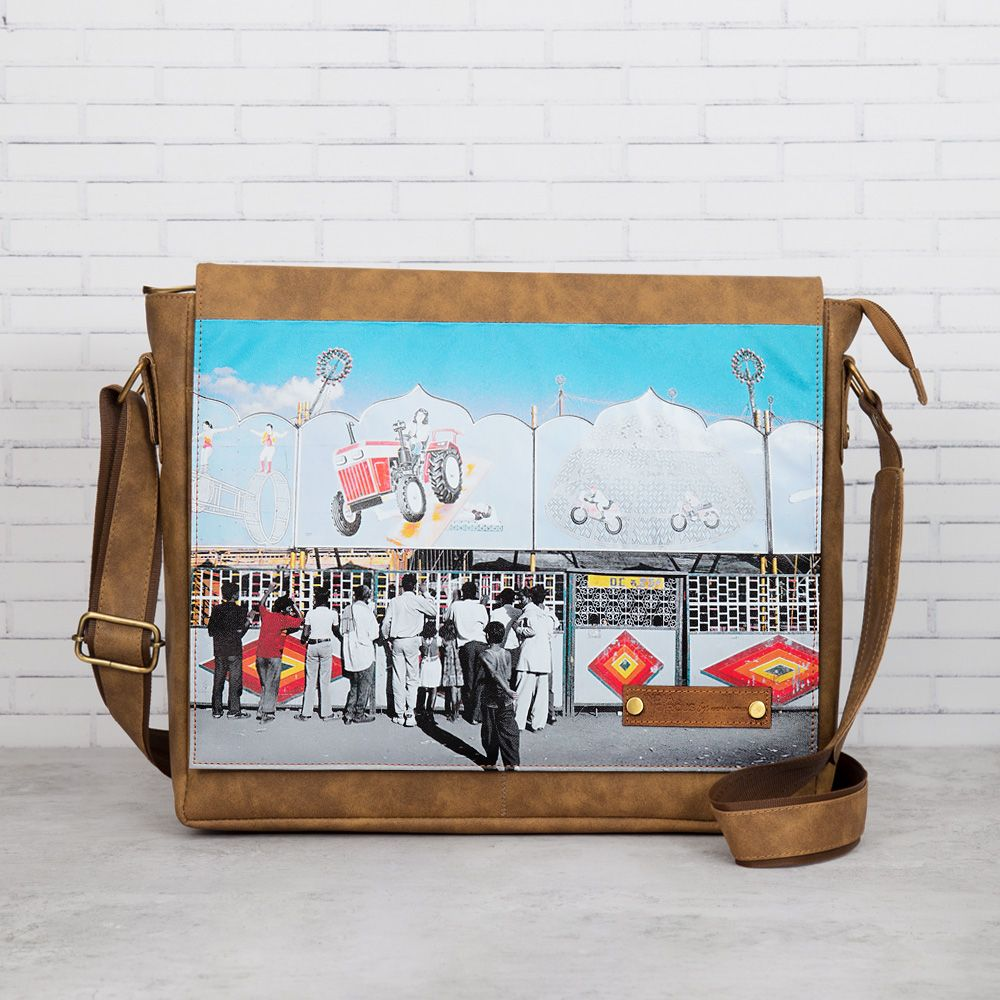 Bedlam Bazaaar Messenger Bag