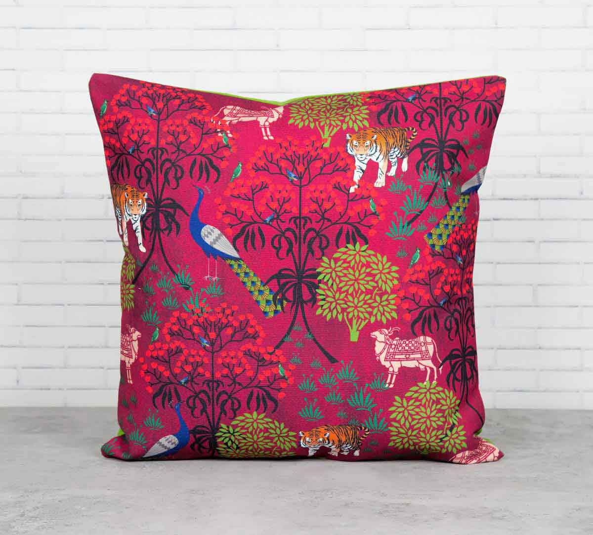 Call of the Wilderness Canvas Blend Cushion Cover