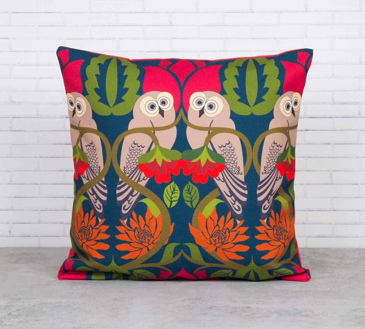 Strix Streaks Canvas Blend Cushion Cover