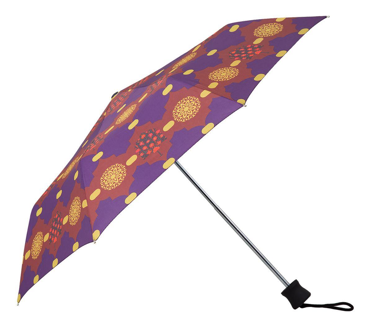 Colourful 3 Fold Umbrella