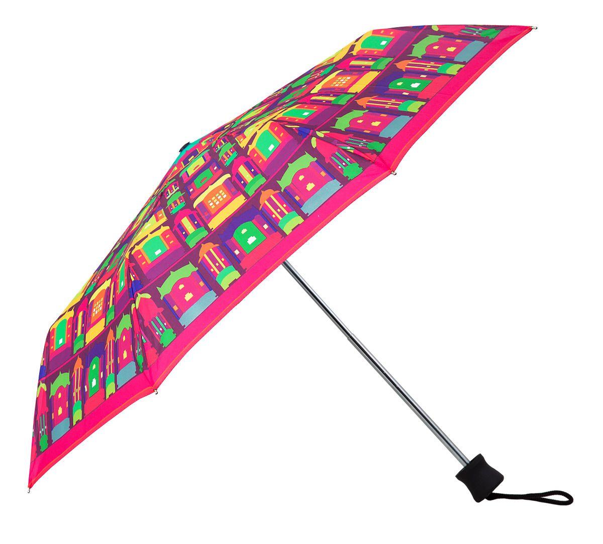 Palatial Illusions 3 Fold Umbrella   Rainy Umbrella