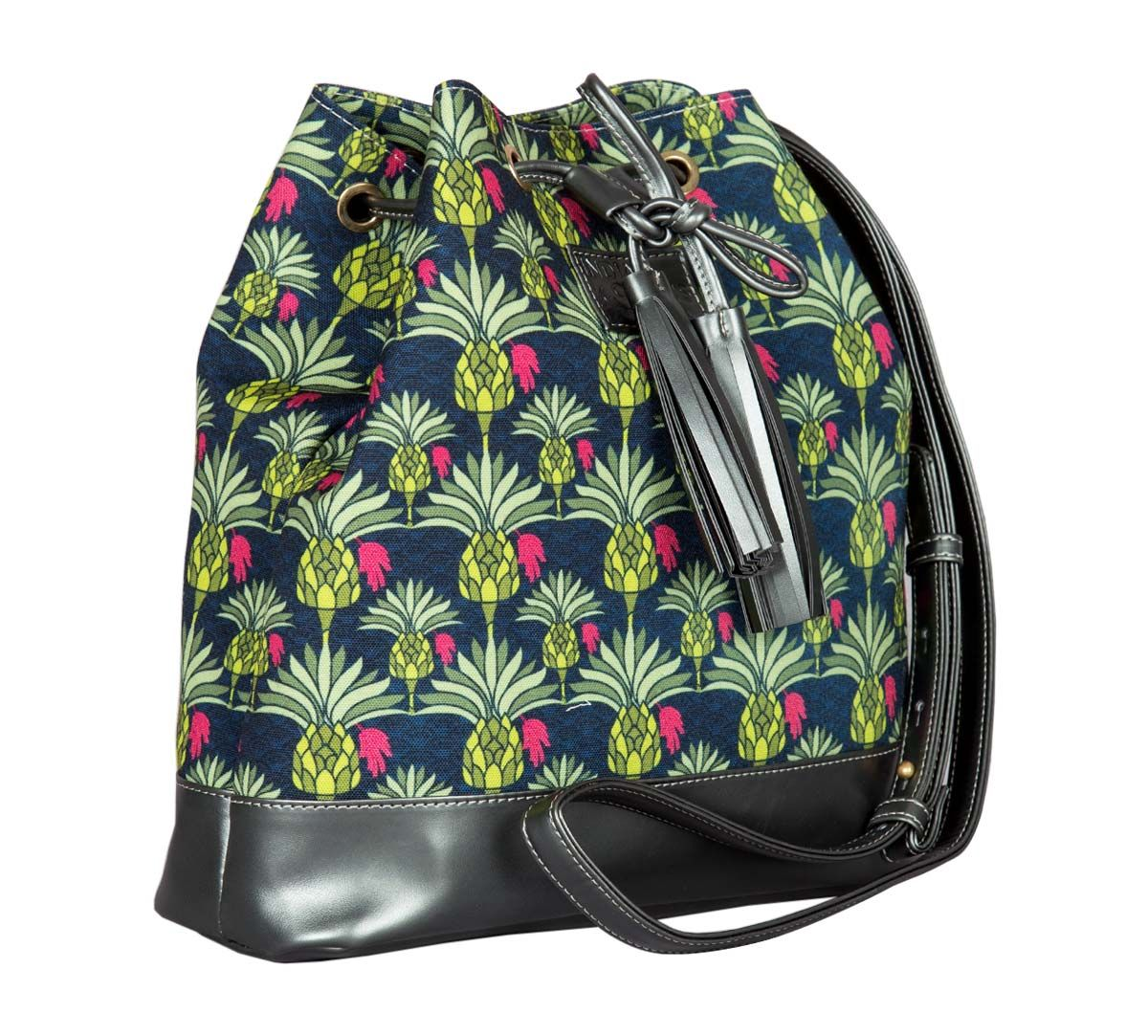 Palmeira Reiteration Hobo Bag