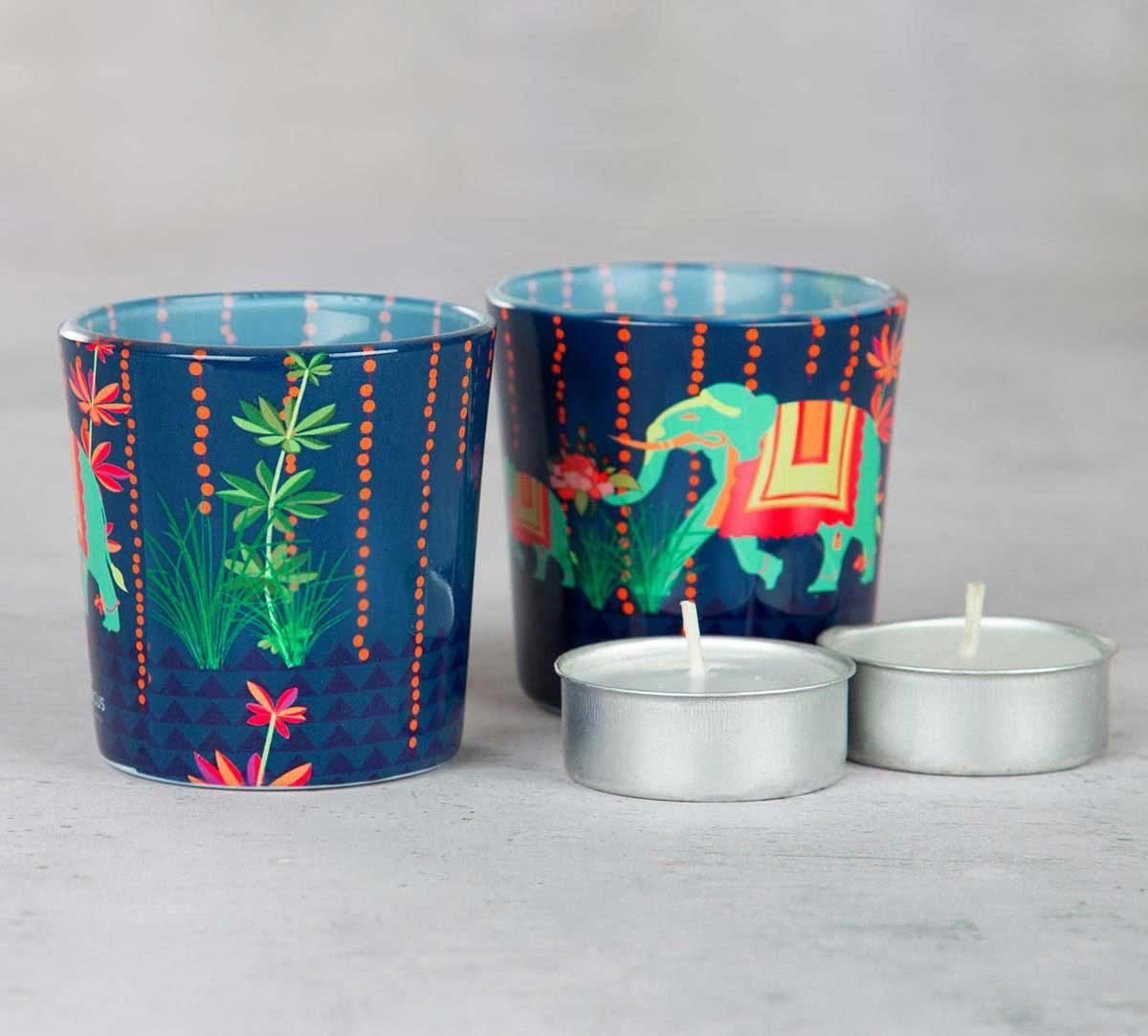 Parade of the Virtuous Tea Light Holder (Set of 2)