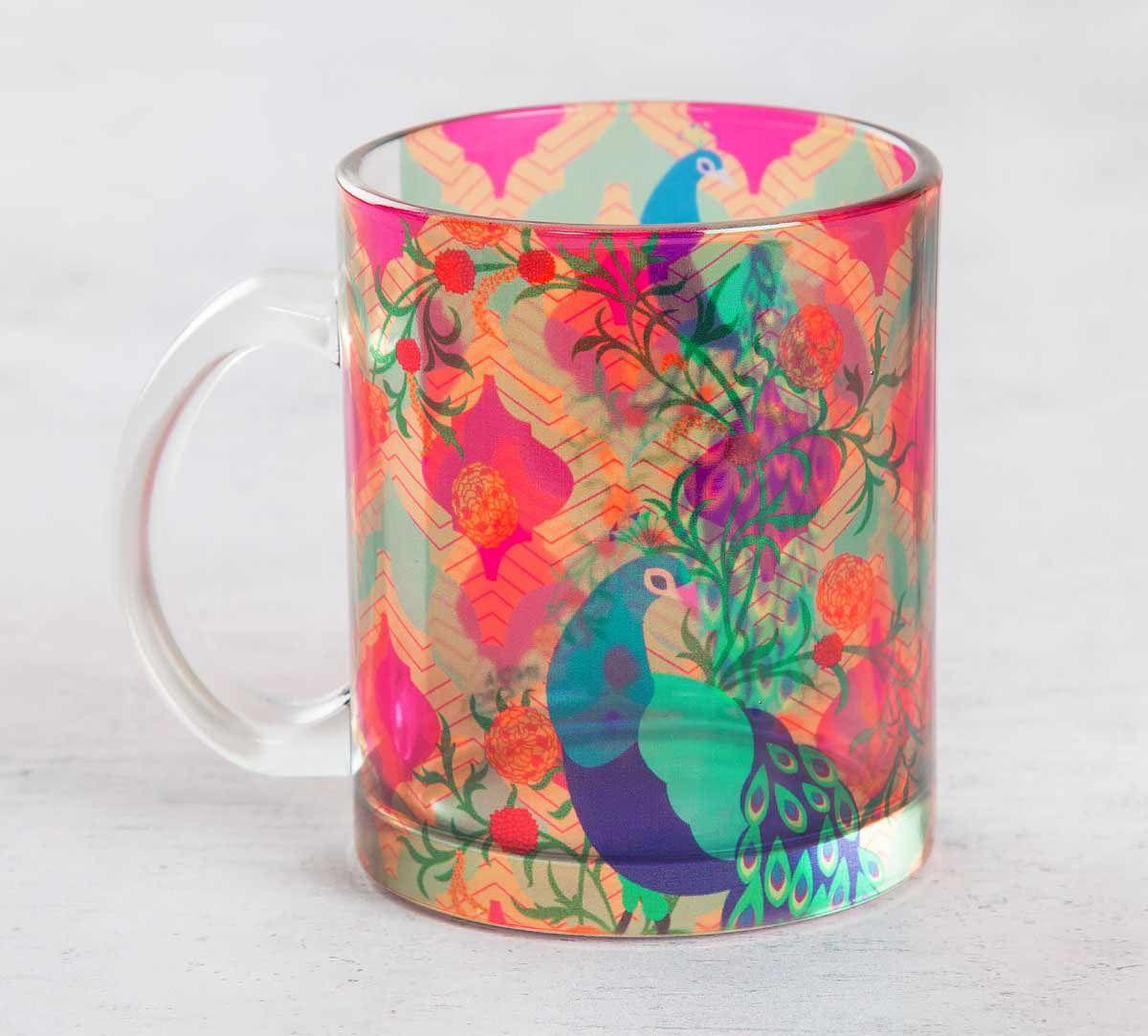 Train of Timourous Glass Mug