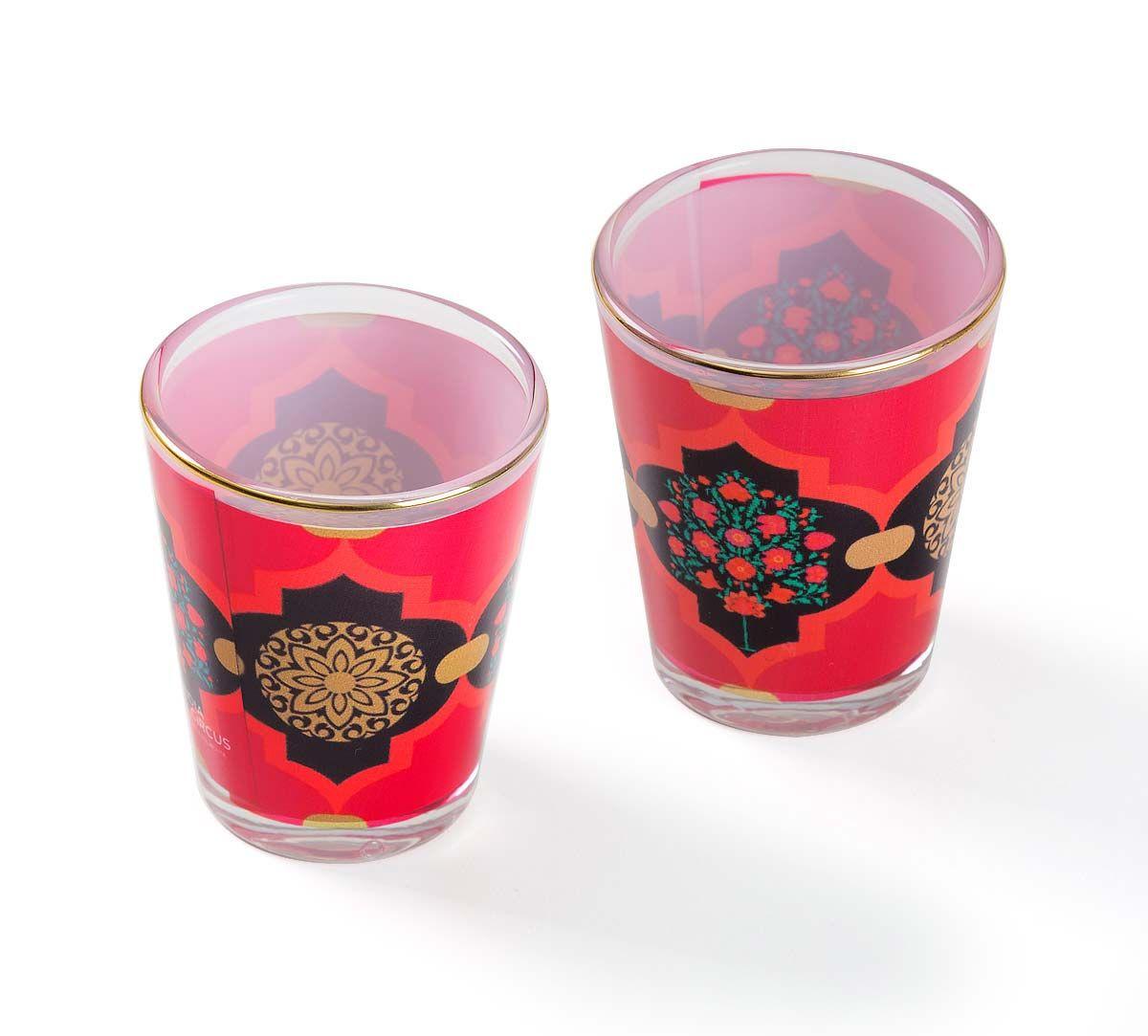 Latticed Synergy Shot Glass