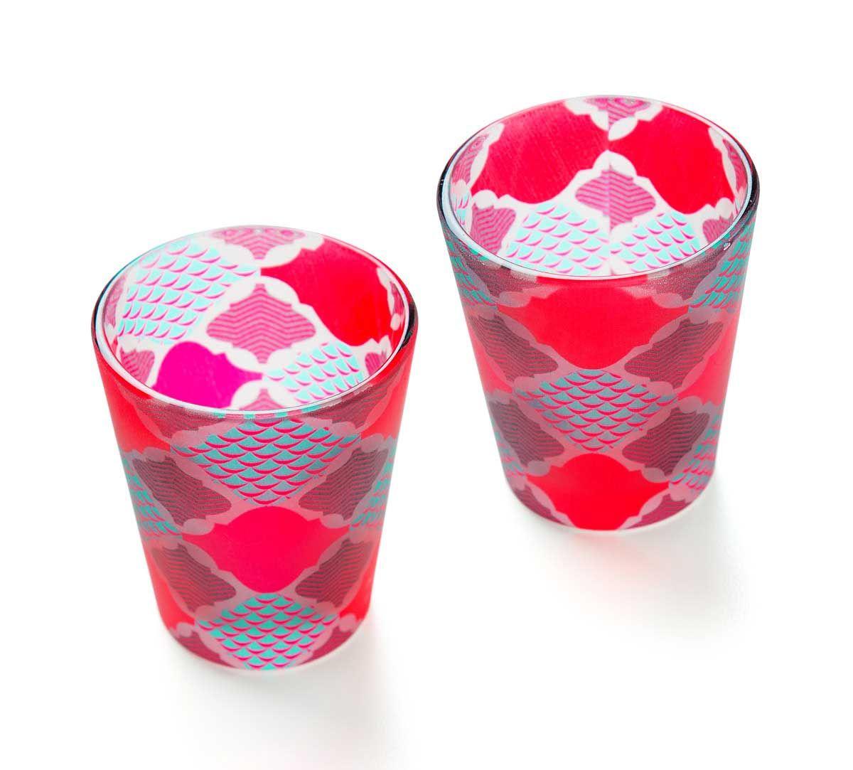 Lattice Labyrinthe Shot Glass (Set of 2)