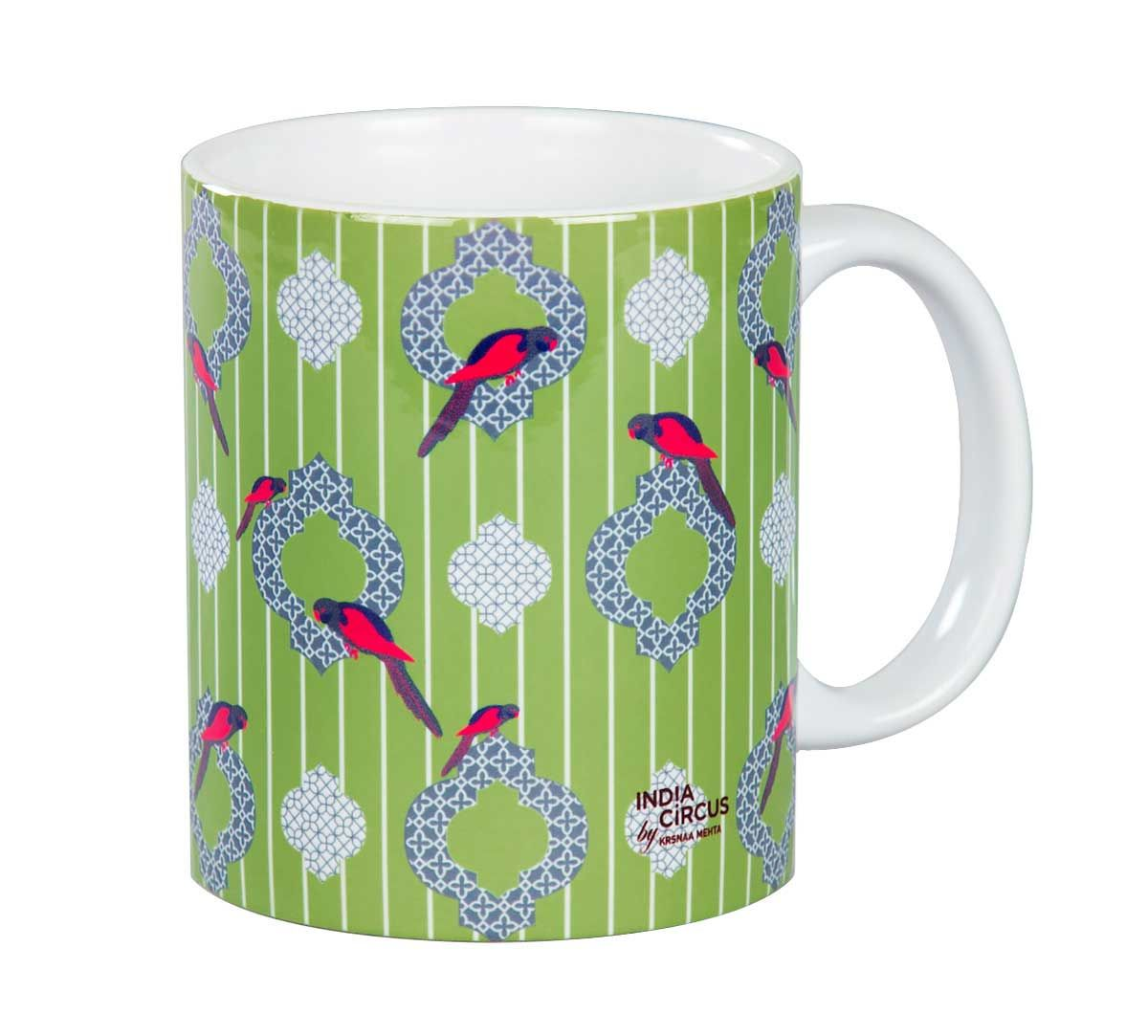 Peeking Parrots Mug