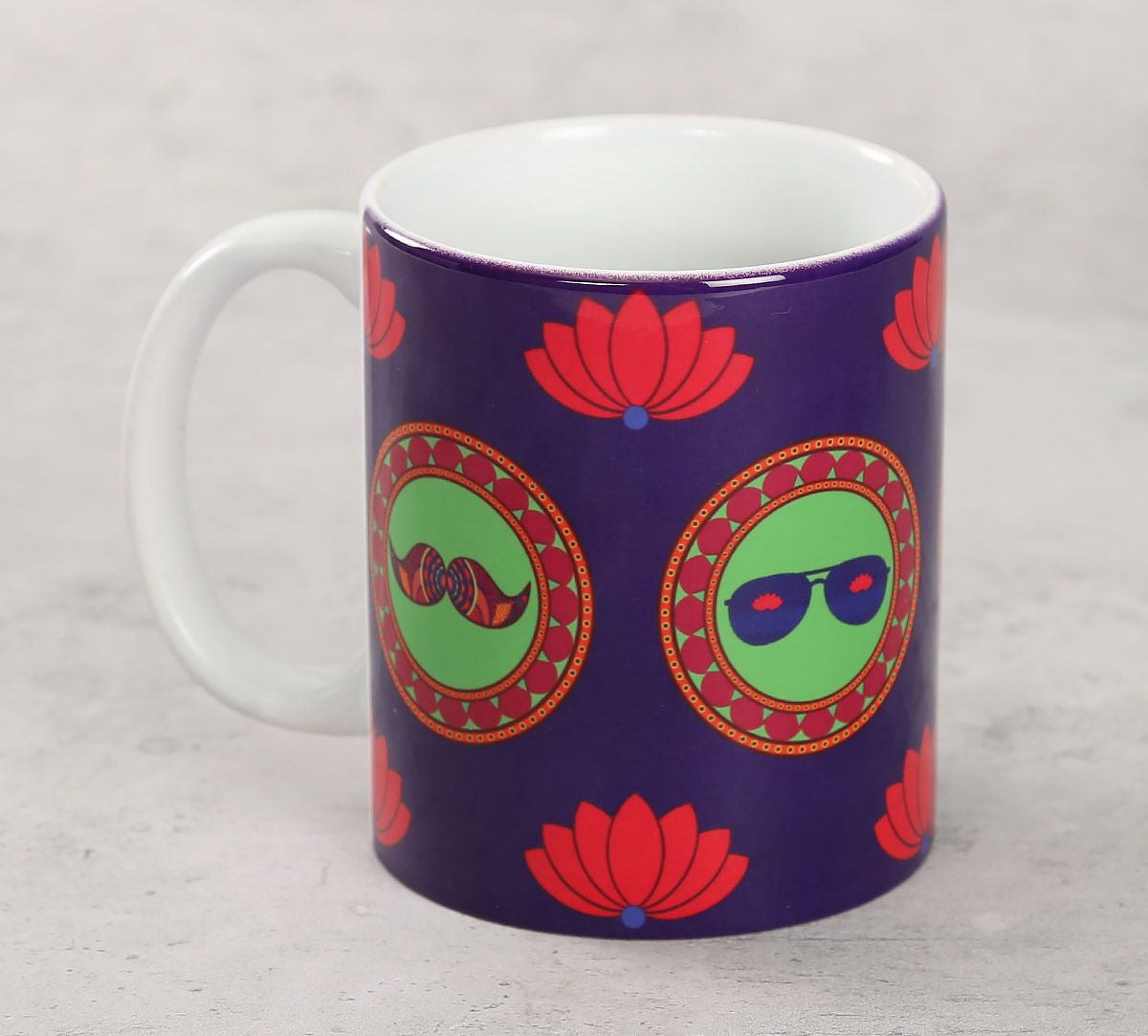 India Circus C'est La Vie Coffee Mug
