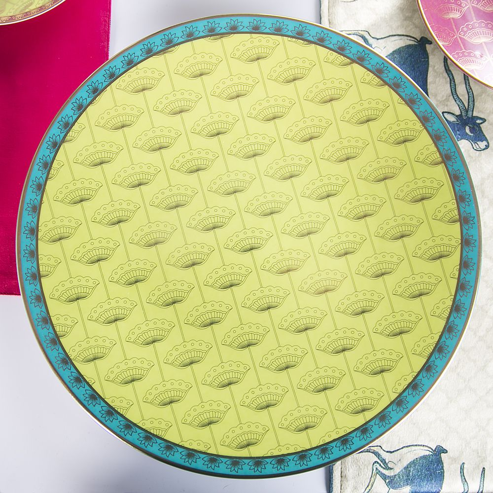 Sea of Coral Charger Platter