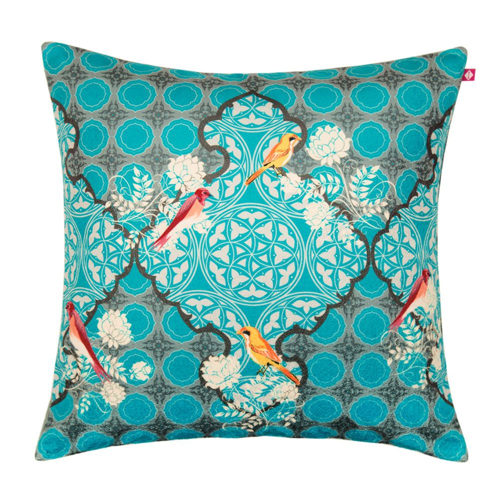 Disco Hedwig Poly Velvet Cushion Cover
