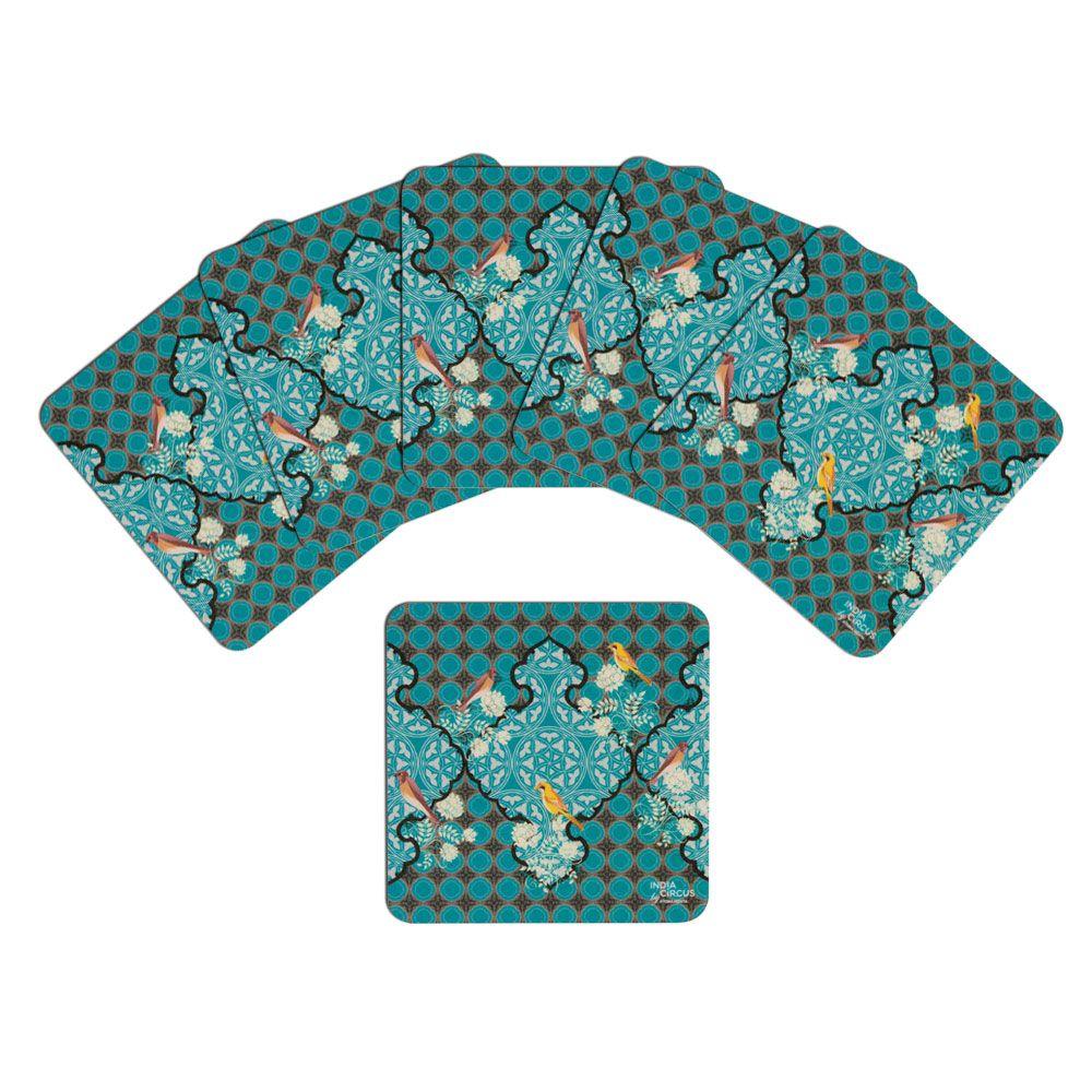 Avian Illusions Rubber Coaster - (Set of 6)