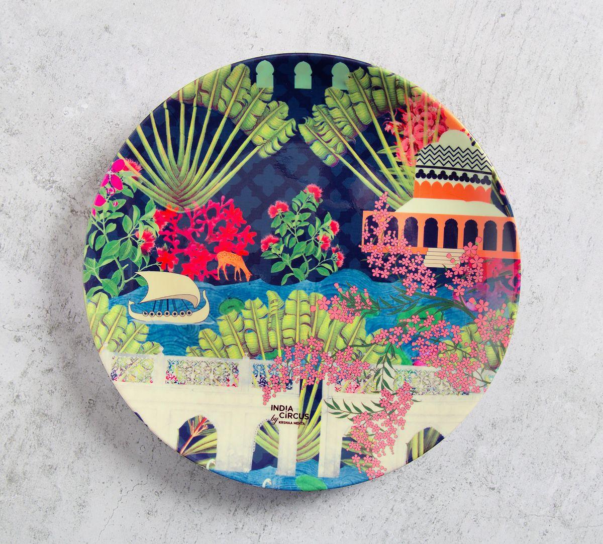 Banks of Silvassa 8 inch Decorative and Snacks Platter