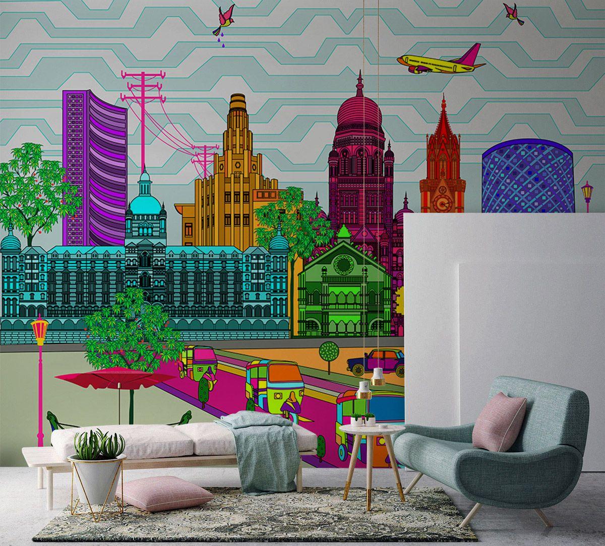 City Fever Vibrancy Wallpaper