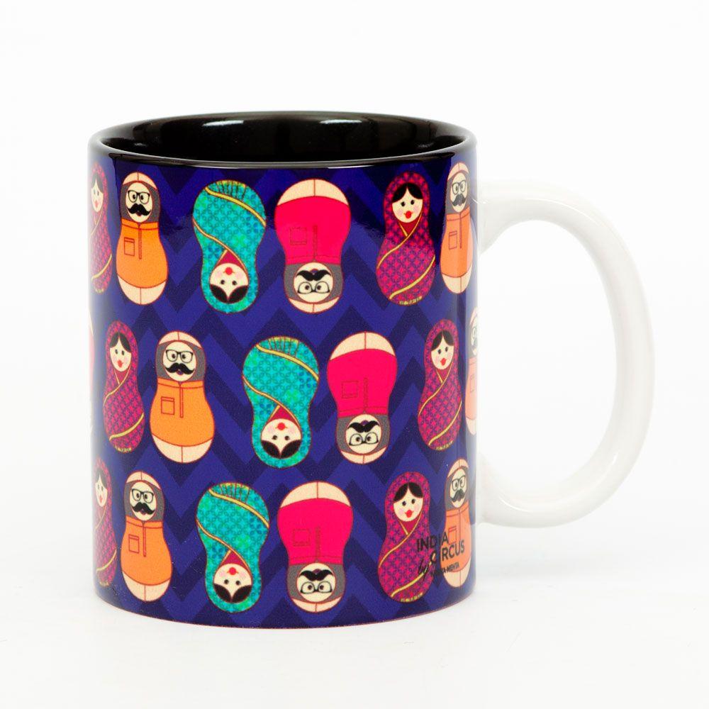 Desi Matryoshka Dolls Mug