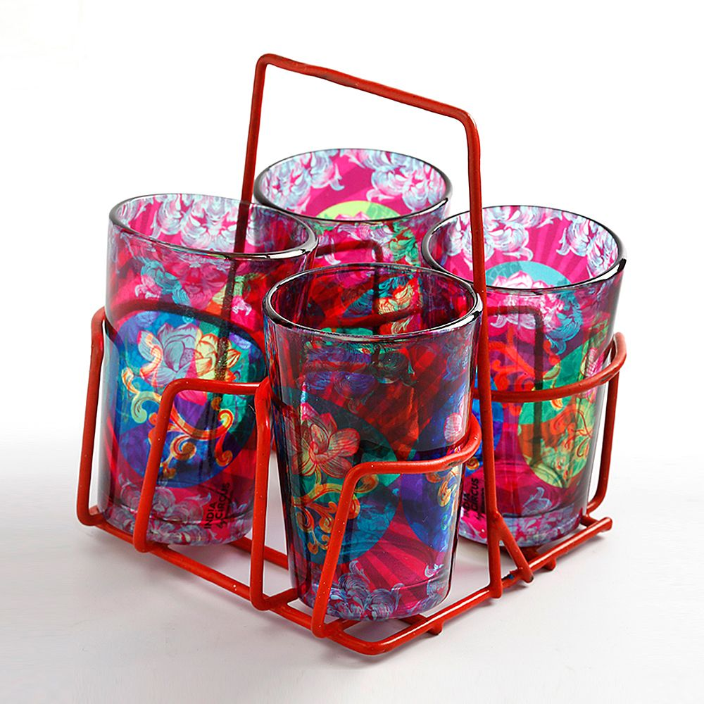 Enchanted Allure Chai Glasses