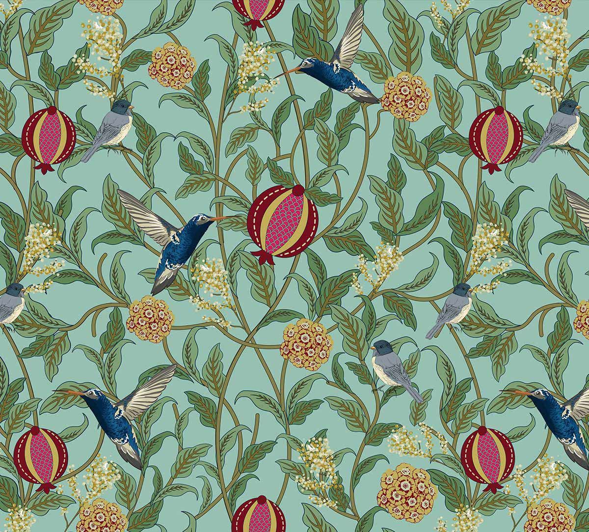 Flights of Vivers Fabric
