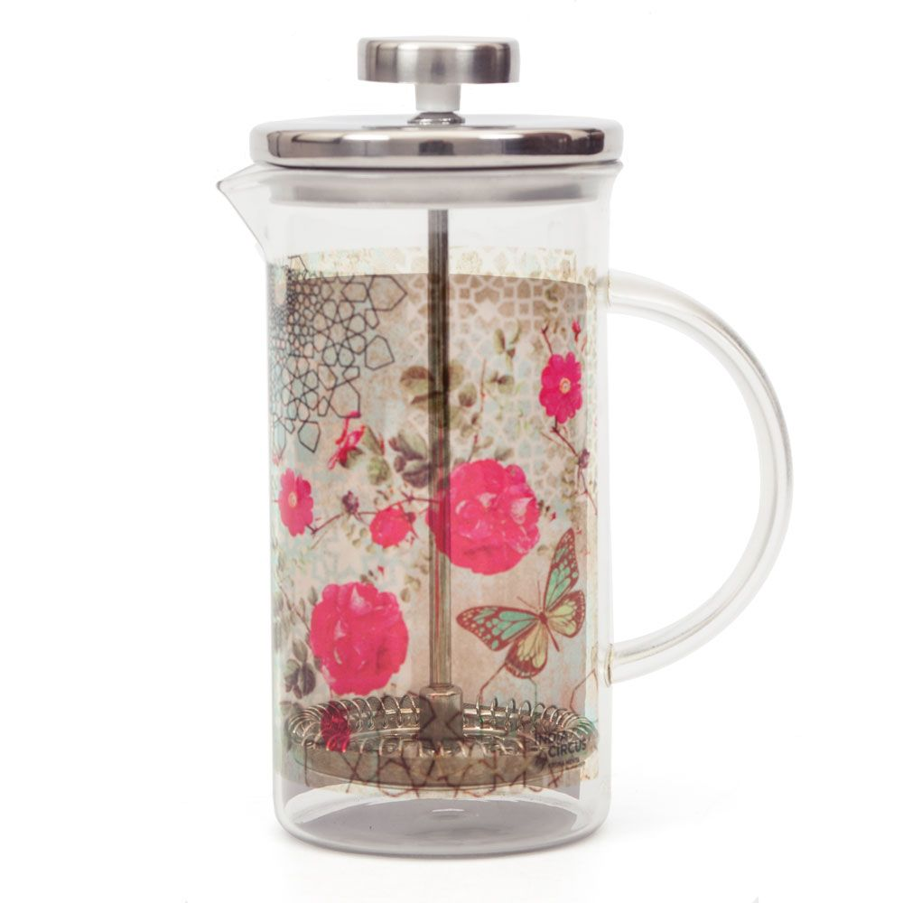Floral Trance French Press