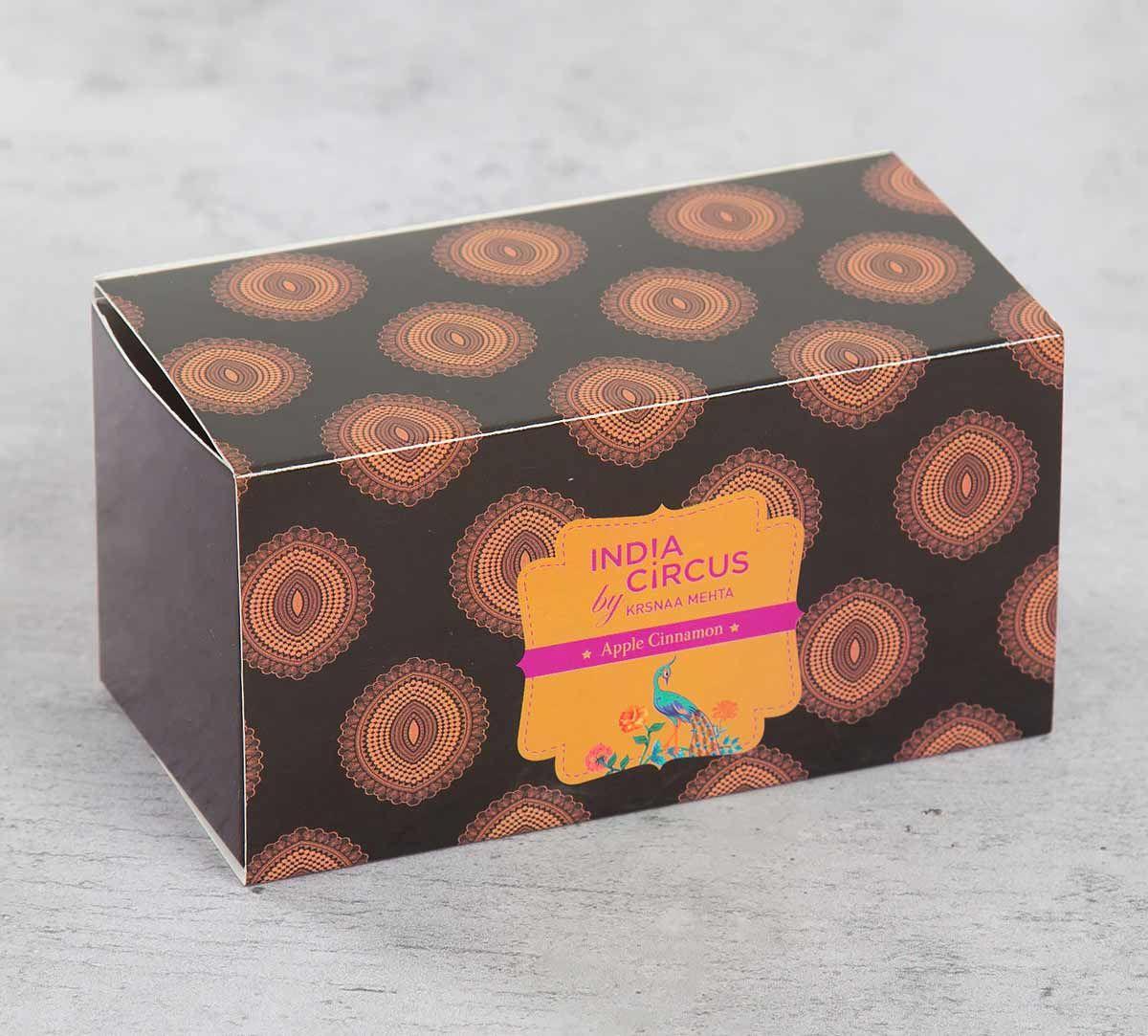 India Circus Apple Cinnamon Glass Votives