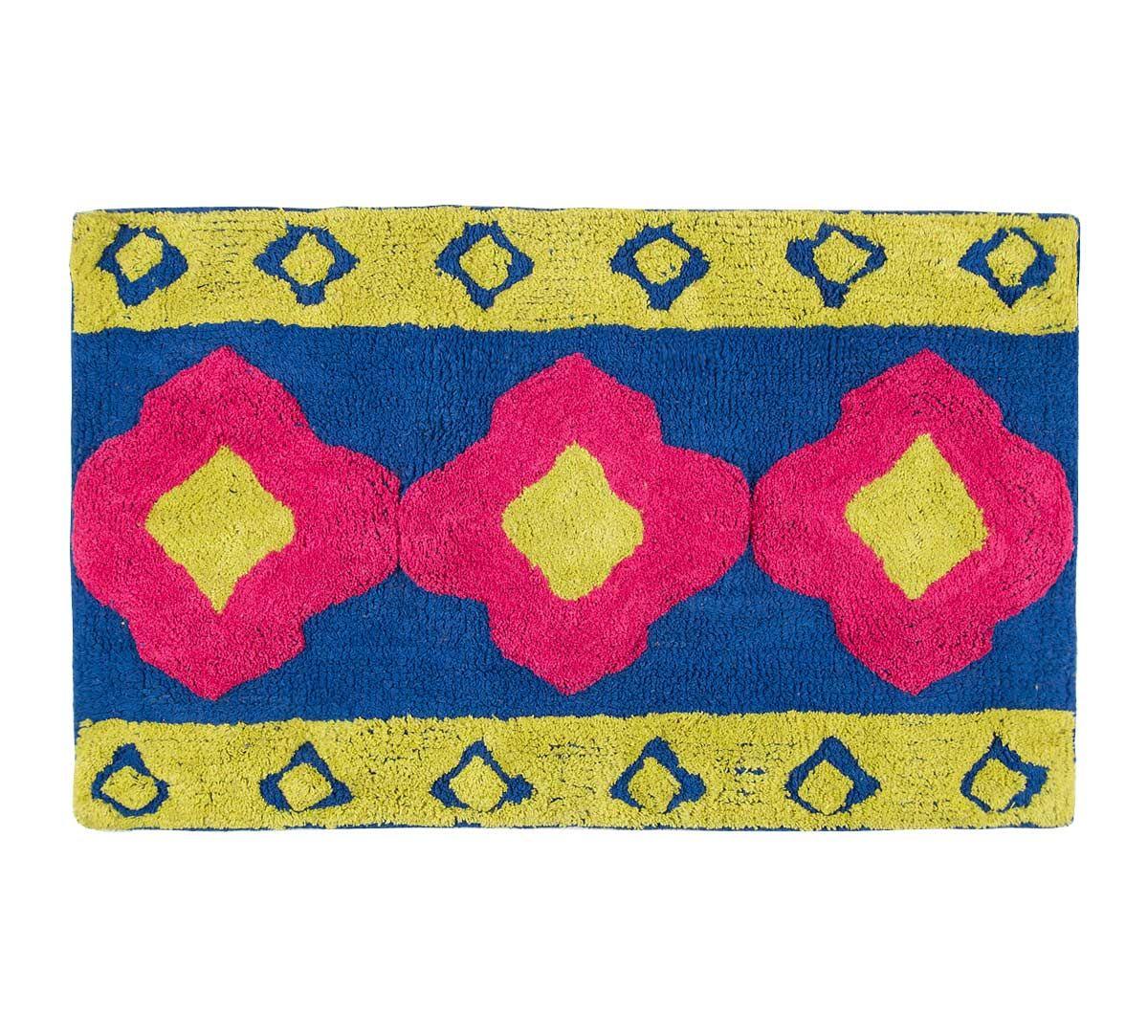 India Circus Badge Motifs Bathmat