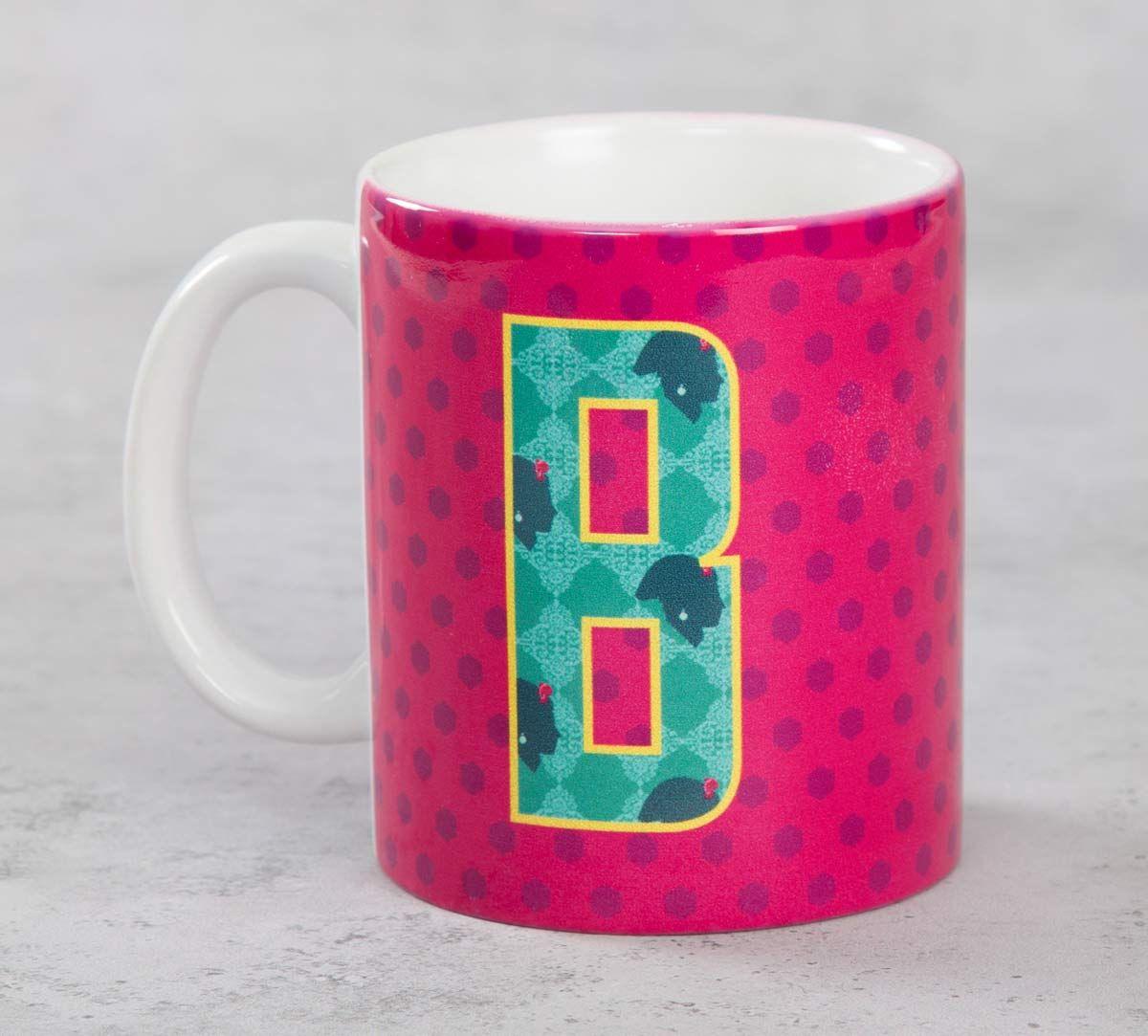 India Circus Bavarian Alphabet B Mug