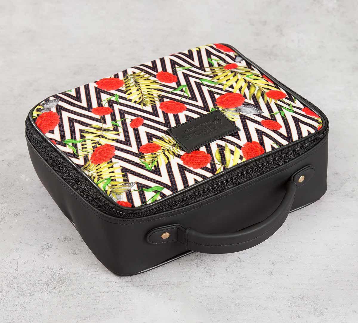 India Circus Bayrose Chevron Cosmetic Bag