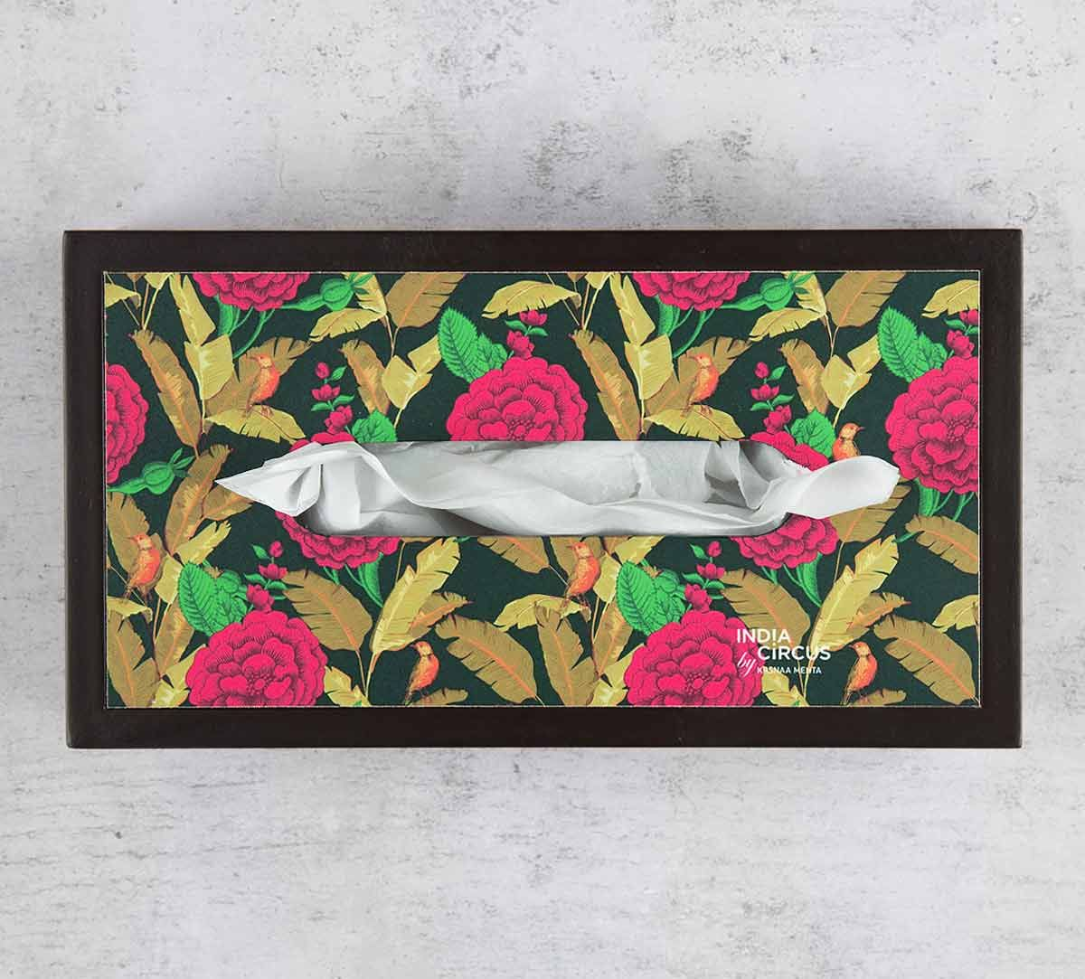India Circus Bayrose Romance MDF Tissue Box Holder