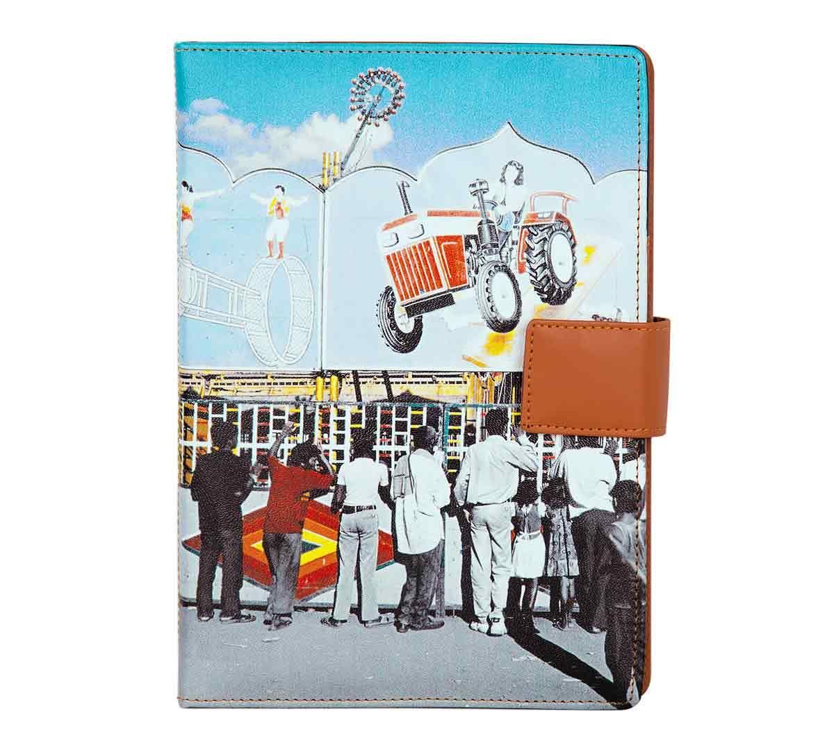 India Circus Bedlam Bazaaar Notebook Planner