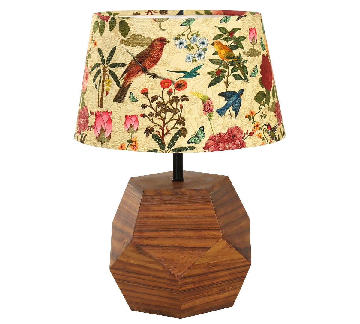 India Circus Bird Land Hexagonal Lamp Shade