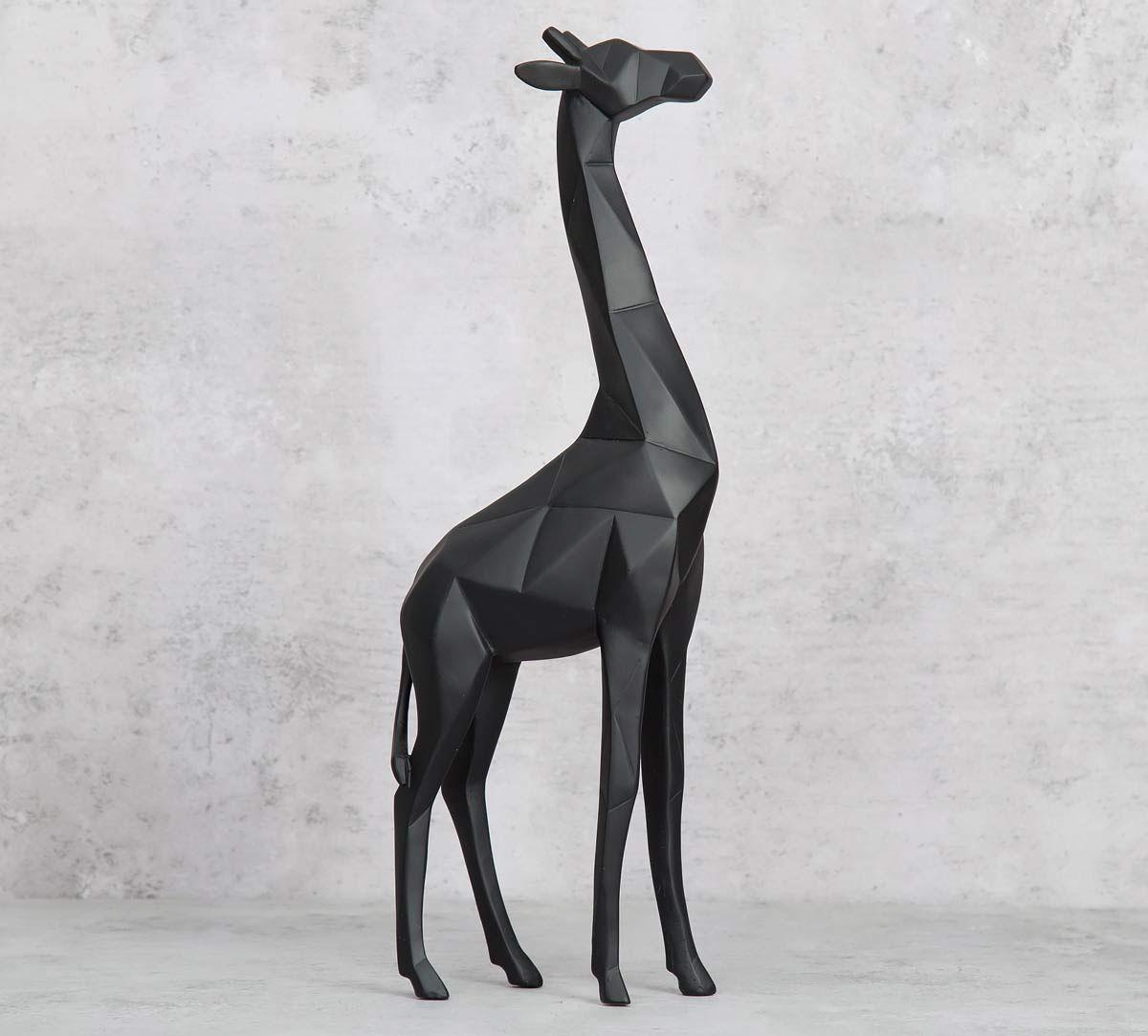India Circus Black Okapi Figurine