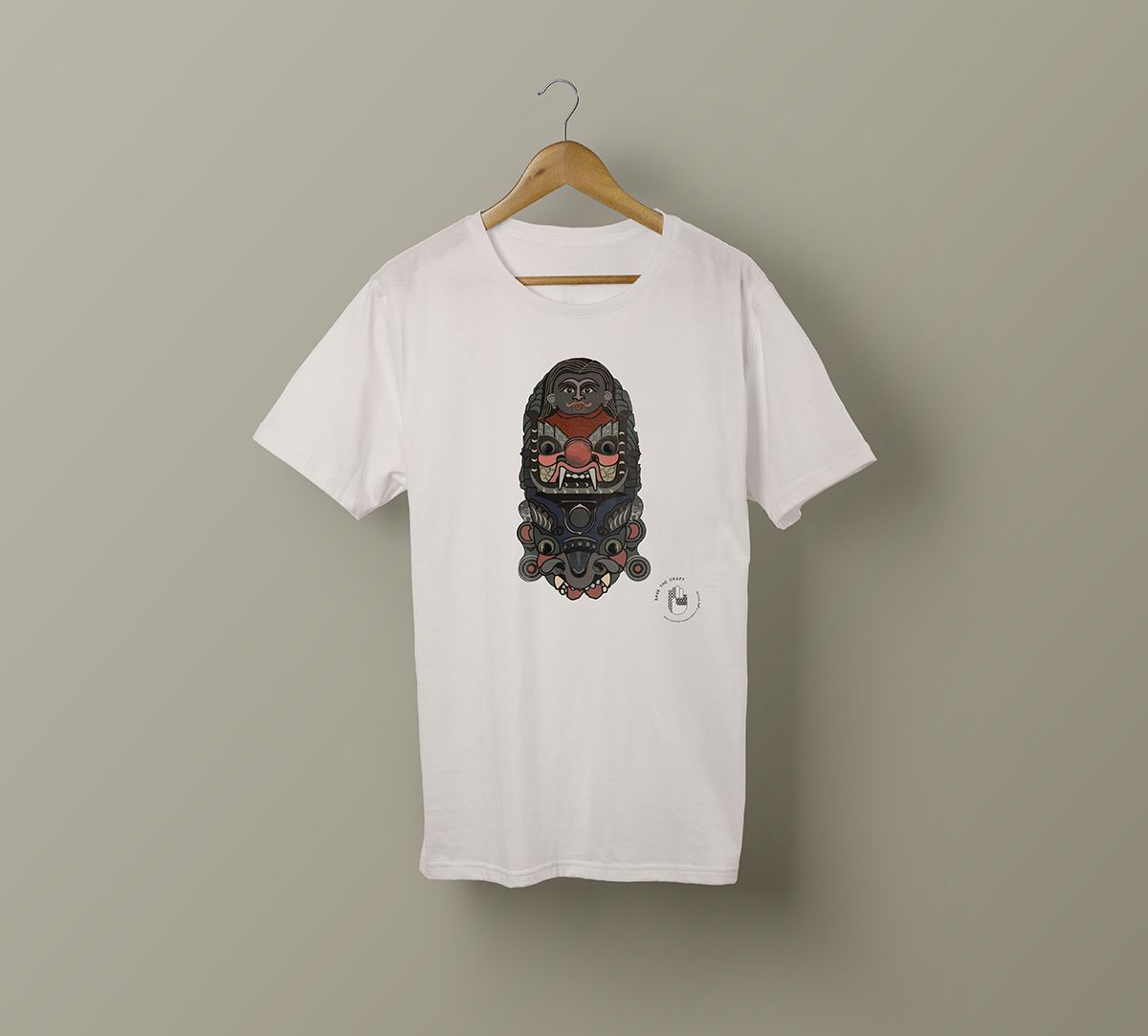 India Circus by Krsnaa Mehta Bhairav's wrath Unisex Extra Small T-Shirt